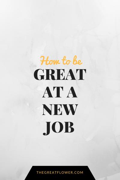 great-at-a-new-job